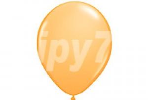 10吋珍珠橘色圓型氣球