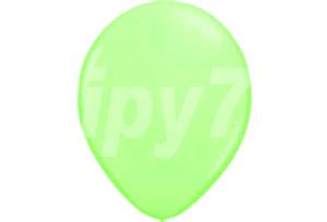 10吋萊姆綠色圓型氣球