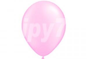 12吋桃色圓型氣球