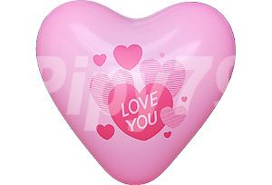 12吋LOVE YOU桃色心型氣球