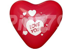 12吋LOVE YOU紅色心型氣球
