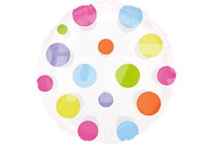 彩色圓點透明球