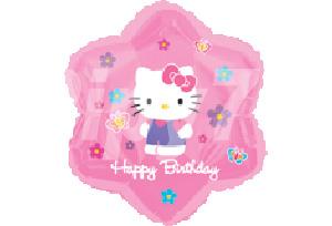 HelloKitty生日花型氣球