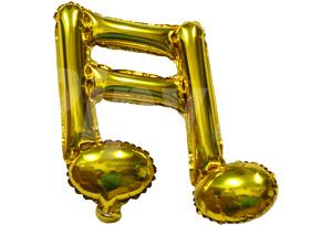 16分音符金色
