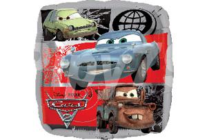Cars 2 汽車總動員方型