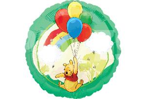 小熊維尼拿氣球