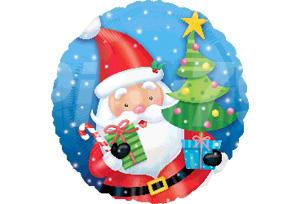 耶誕老人聖誕樹