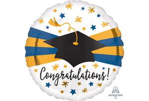 恭喜畢業金藍帶畢業帽