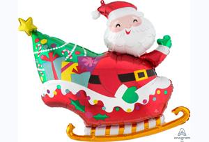 聖誕老人雪橇