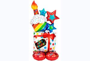 生日禮物站立氣球
