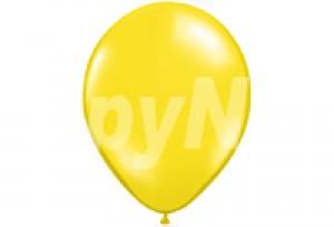 12吋黃色圓型氣球