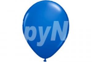 12吋藍色圓型氣球