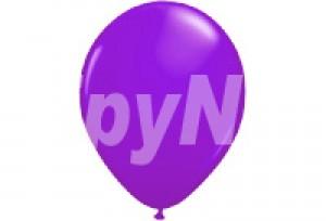 12吋珍珠紫色圓型氣球