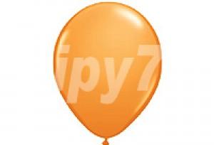 10吋橘色圓型氣球