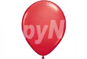 10吋紅色圓型氣球