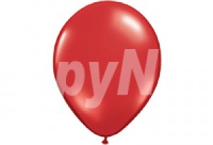 10吋珍珠紅色圓型氣球