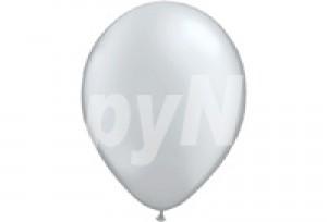 10吋珍珠銀色圓型氣球