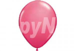 10吋珍珠桃紅色圓型氣球