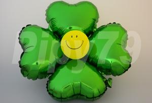 綠色小四輪花