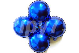 藍色小四輪圓