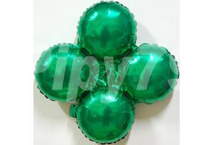 綠色小四輪圓