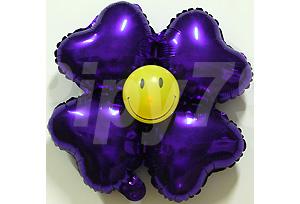 紫色小四輪花