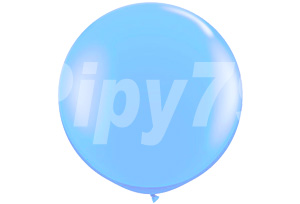 30吋淺藍色圓型氣球