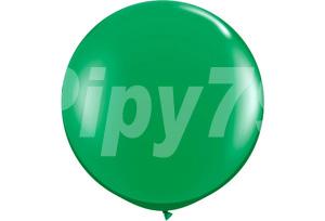 60吋綠色圓型氣球