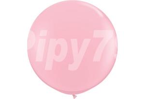 36吋粉紅色圓型氣球