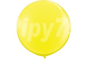 30吋黃色圓型氣球