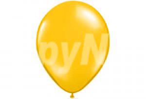 10吋木瓜黃色圓型氣球
