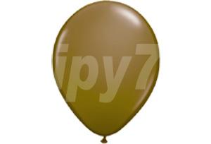 10吋棕色圓型氣球