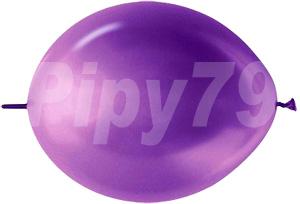 12吋LOL紫色珍珠針球