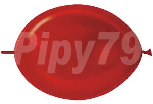 12吋LOL紅色珍珠針球