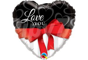 Love YOU 紅緞帶