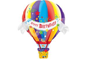 生日快樂熱氣球
