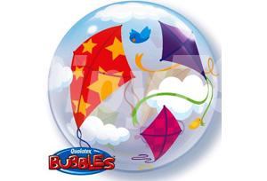 五彩風箏透明泡泡耐久氣球