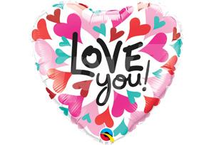 LOVE you! 愛心滿佈