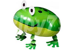 青蛙散步氣球