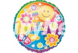 太陽蝴蝶花HAPPY BIRTHDAY