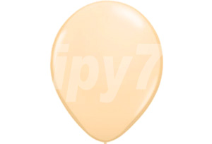 11吋Q牌膚色圓型氣球