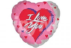 I Love You單面印刷