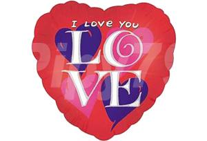 LOVE單面印刷