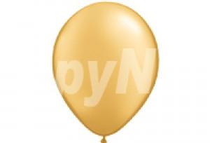 10吋珍珠金色圓型氣球