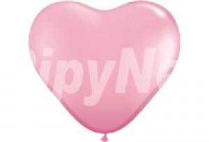 5吋粉紅色心型珍珠氣球